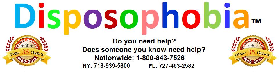 Disposophobia – The fear of getting rid of stuff